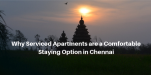 Why serviced apartment are a comfortable staying option in chennai